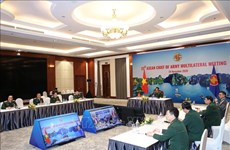 Vietnam attends virtual ASEAN Chief of Army Multilateral Meeting