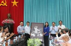 Vietnam News Agency, Ben Tre beef up information cooperation