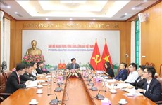 Vietnam attends 34th meeting of Asian political parties