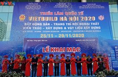 Vietbuild Hanoi International Exhibition 2020 opens