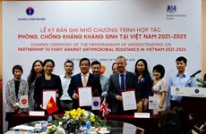 UK to help Vietnam fight against antimicrobial resistance