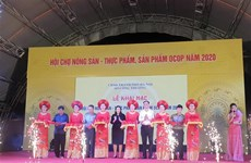 OCOP products on display at Hanoi agriculture fair