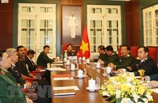 Vietnam, India defence ministers hold online talks