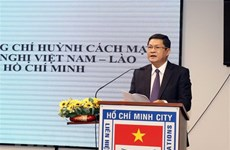 HCM City get-together marks Laos' 45th National Day