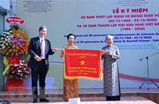Vietnam - Cuban diplomatic ties marked in HCM City