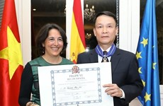 VNA General Director honoured with Spanish Order of Civil Merit