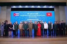 Vietnam, Cuba strengthen defence cooperation
