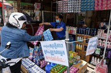 Cambodia rolls out mass contact tracing