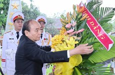 PM attends ceremony in commemoration of President Le Duc Anh's 100th birthday