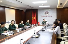 Vietnam, Japan reinforce cooperation in military medicine