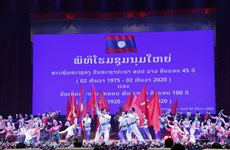 Laos marks 45th National Day with grand ceremony