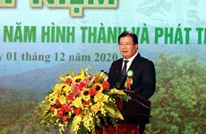 Forestry production expected to grow 5-5.5 percent annually in next five years