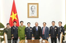 Deputy PM receives RoK's National Police Agency delegation