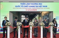 HCM City hosts Zhejiang international trade exhibition