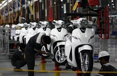 Indonesia sees drop in motorcycle sales