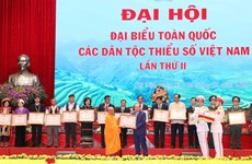 Second national congress of Vietnam's ethnic minorities wraps up