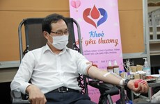 Nearly 10,000 units of blood donated in Samsung drive