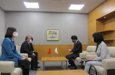 Japanese locality leader lauds Vietnam's success in COVID-19 control