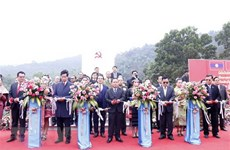 Lao revolution relic site opened