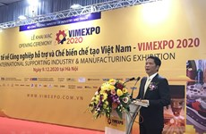 Int'l expo on support industries, processing-manufacturing opens