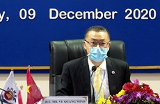 Vietnam's chairmanship lauded at high-level meeting of ASEAN Regional Mine Action Center