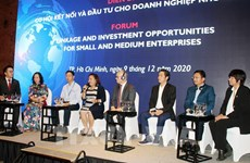 HCM City forum spotlights linkage, investment opportunities for SMEs