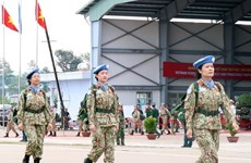 Participation in UN peacekeeping missions under Party's absolute, direct leadership: Resolution