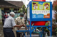 Regional head elections held in Indonesia
