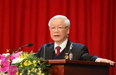 Patriotic emulation movement greatly contributes to country's successes: Top leader