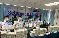 Malaysia seizes over 26 million USD worth of crystal meth