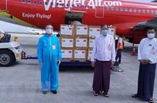 Vietnam sends medical masks to Myanmar