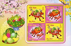 Year of the buffalo stamp set released
