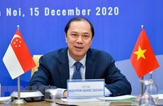 Vietnam, Singapore hold 13th political consultation