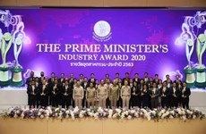 Thai PM delivers Industry Awards 2020