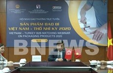 Webinar connects Vietnamese packaging producers to Turkish importers
