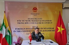 Webinar fosters Vietnam's investment in Myanmar amid COVID-19