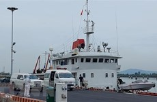 Eleven sailors on sunken Panamanian ship rescued