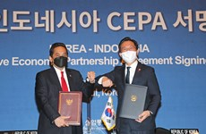 Indonesia, Republic of Korea sign free trade deal