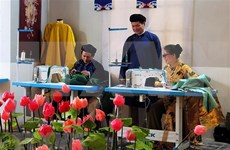 Festival honours Ao dai, cuisine of Hue ancient imperial city