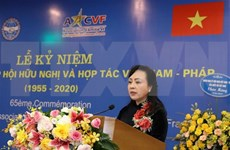 Vietnam-France Friendship Association marks 65th anniversary