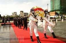 Incense offering ceremony for Vietnamese martyrs held in Cambodia