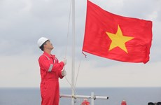 Biendong POC's flag-salute ceremonies set Guinness Vietnam record