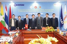 Cooperative audit on water management in Mekong River basin kicks off