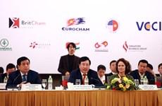Deputy PM Pham Binh Minh attends Vietnam Business Forum 2020