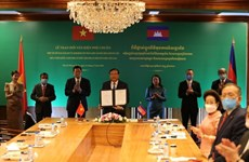 "Vietnam-Cambodia relations touch ""historic milestone"": Cambodian official"