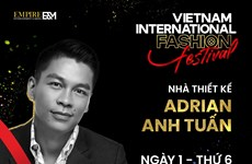Vietnam International Fashion Festival to open on December 25