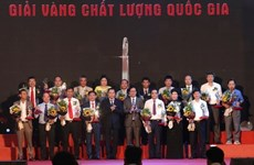 Sixty-one enterprises honoured with Vietnam National Quality Awards 2020