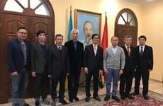 Ambassador meets Vietnamese businesses in Ukraine