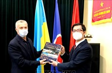 Friendship association dedicated to Vietnam-Ukraine ties: diplomat
