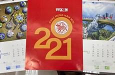 Vietnam News Agency debuts 2021 interactive calendar